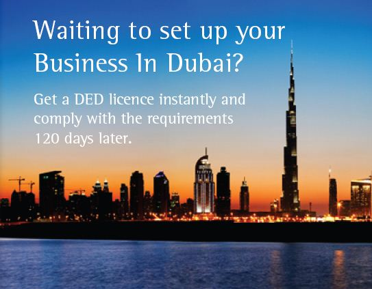 Waiting to set up your business in Dubai